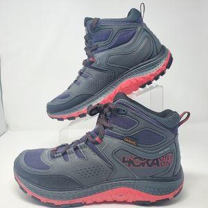 Hoka One One Tech Mid Hiking Sneaker Pink Black